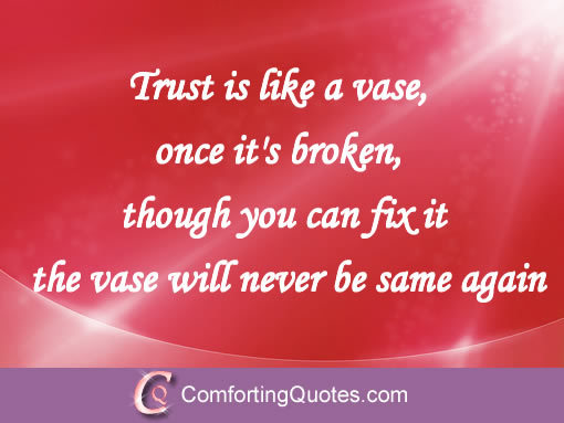 48 Painful Broken Trust Quotes and Sad Sayings About Trust ...