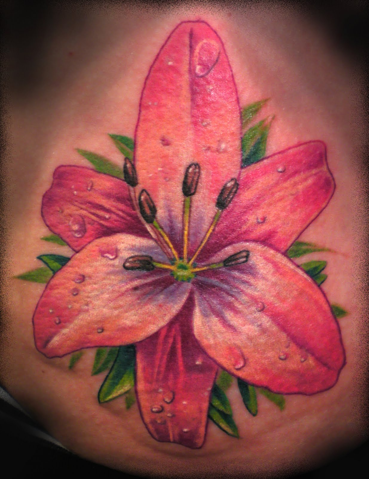 42 Most Beautiful Lily Flower Tattoos Designs You Ever Seen Parryz