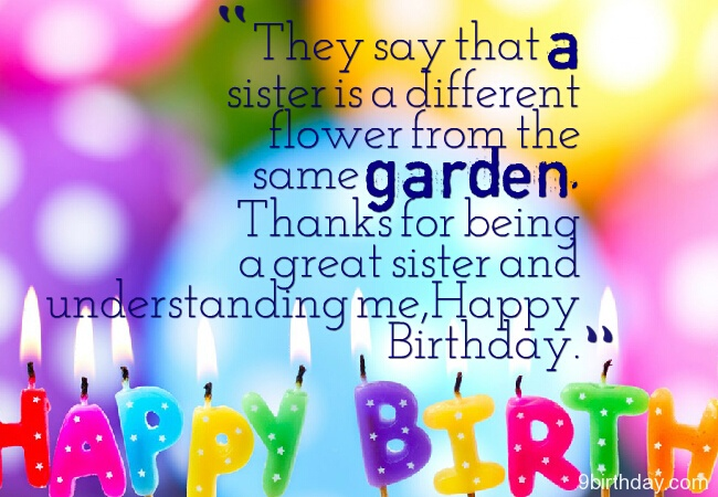 48 Cutest Birthday Quotes and Wishes For Special One Parryz – Different Birthday Greetings