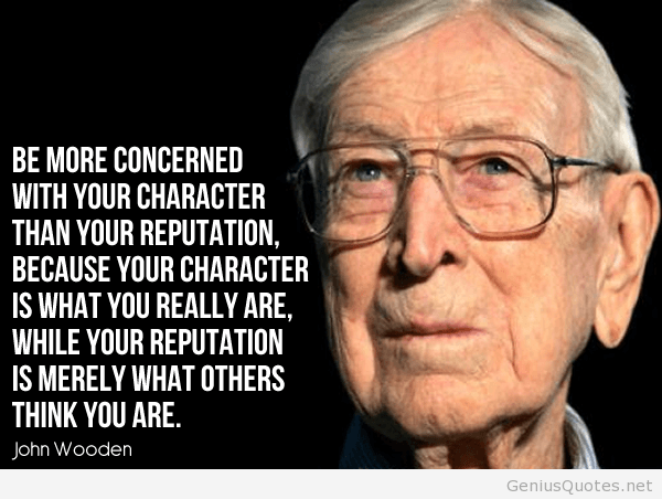 Mind Blowing John Wooden Quotes - Parryz.com