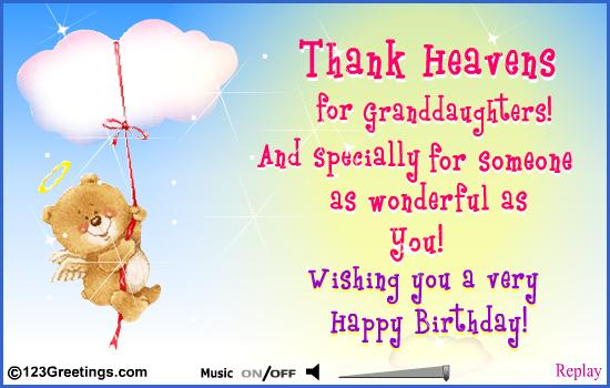 79 Most Attractive Happy Birthday Greetings And Wishes Collection Happy Birthday Wishes For A Granddaughter