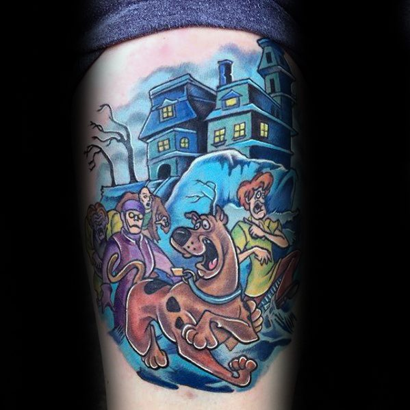 63 Astounding Scooby Doo Tattoo Designs You Definitely Love Them All ...