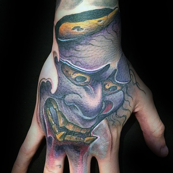 63 tremendous hannya mask tattoo designs that inked by classy ink. Black Bedroom Furniture Sets. Home Design Ideas