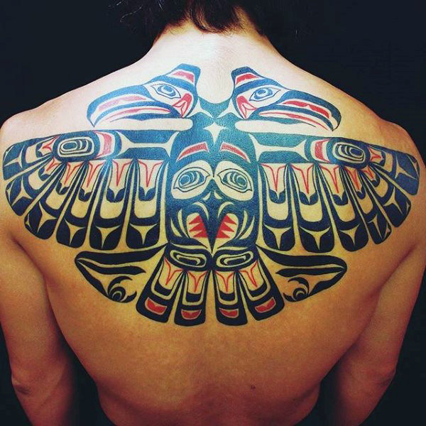 64 Famous Haida Tattoo Designs That Are Paint On Your Body