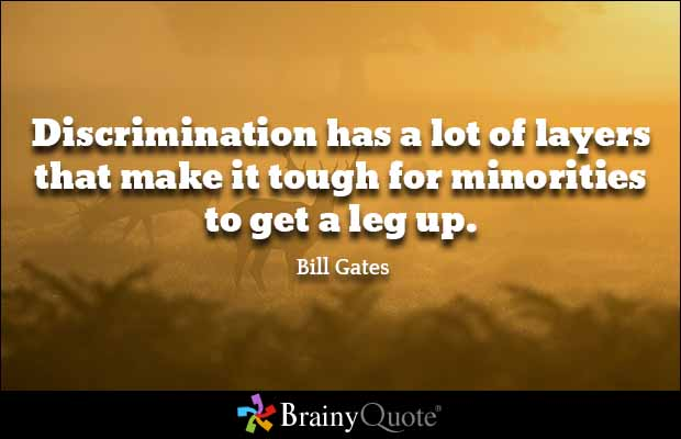 Discrimination Quotes Unique Discrimination Quotes Cool Gary Mickelson Quotes Quotehd