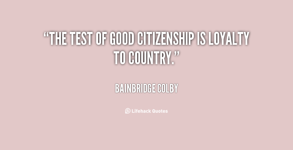 Citizenship Quotes Amusing Best Citizenship Quotes  Parryz