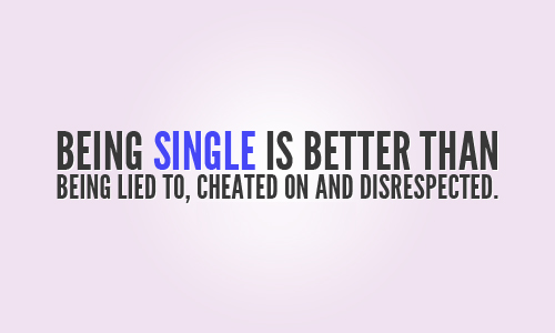 I love being single quotes | 11 Signs You\'ve Fallen In Love ...
