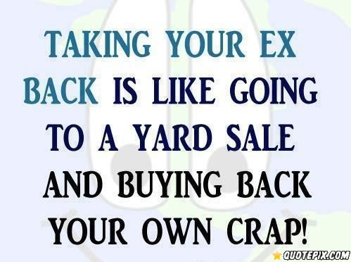 Ex quotes and sayings