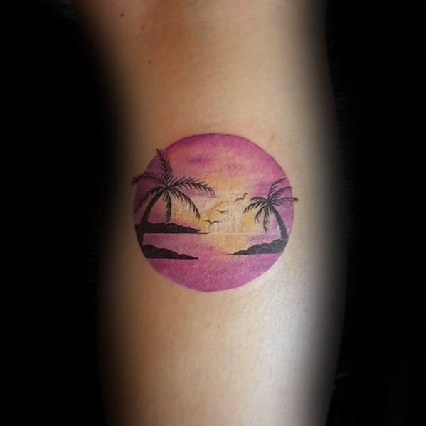 53 Fabulous Small Beach Tattoos Designs And Ideas Collections