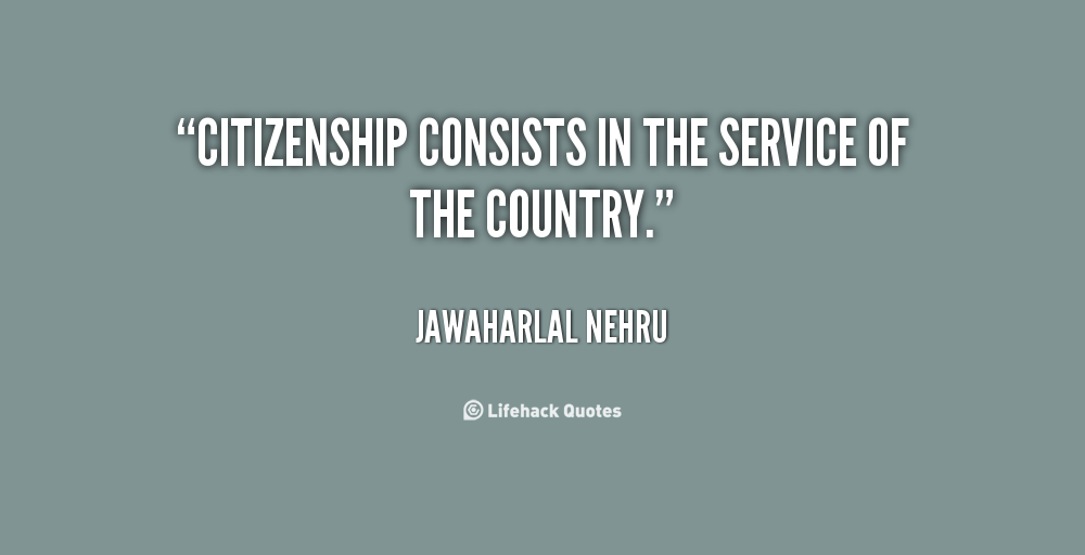 Citizenship Quotes Enchanting Fabulous Citizenship Quotes  Parryz