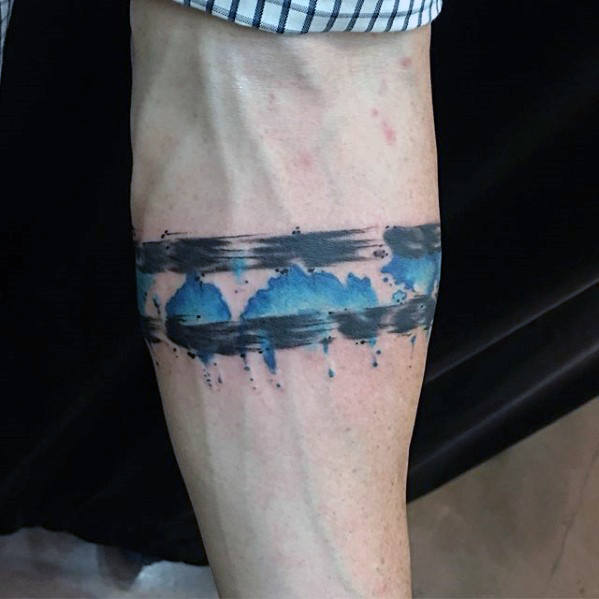 73 most wonderful thin blue line tattoo designs made by