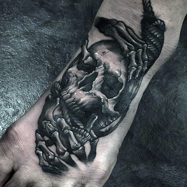 Famous Skeleton Hand Tattoo Parryz Com