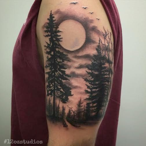 79 Outstanding Sky Tattoos Designs Inked With Colorful