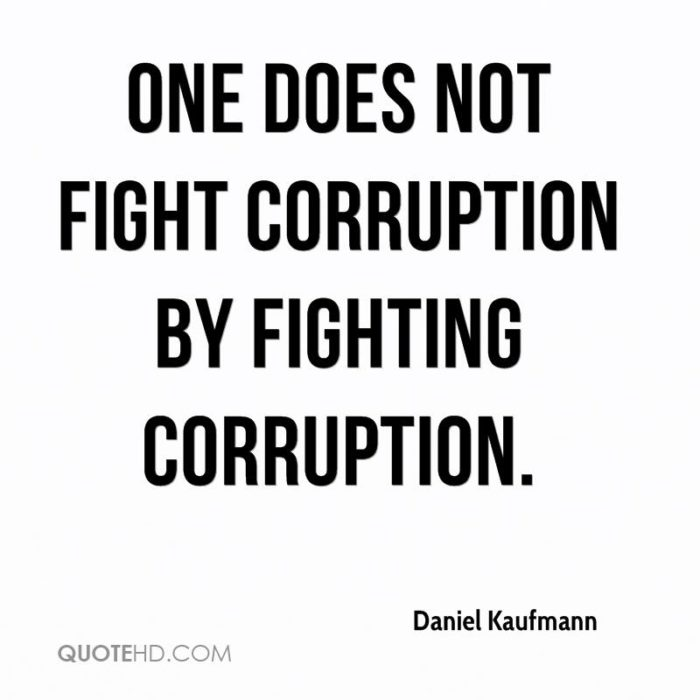 Quotes About Corruption: 63 Popular Corruption Quotes And Quotations About