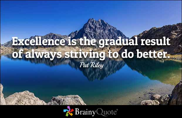 34 Great Excellence Quotes & Quotations About Excellence ...
