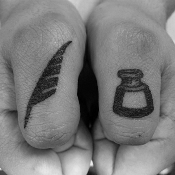 103 Outstanding Quill Tattoo Designs And Ideas You Never ...