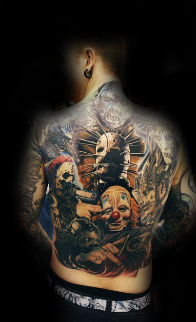 69 great slipknot tattoo designs and ideas collections. Black Bedroom Furniture Sets. Home Design Ideas