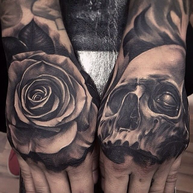 Superb Skull Hand Tattoos Parryzcom