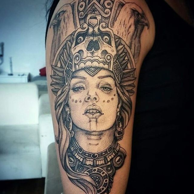 Aztec Tattoos For Females Best Tattoo Ideas
