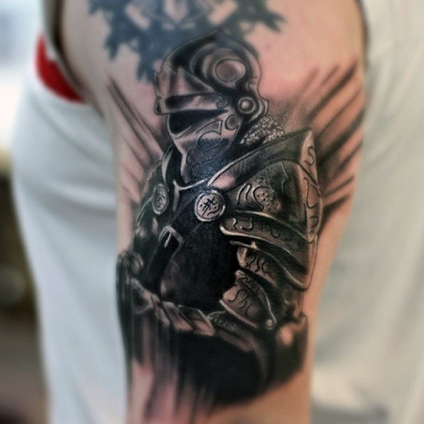 96 Brilliant Knight Tattoos Designs And Ideas Collection