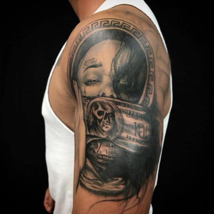 Tattoo Quotes Money: 144 Selected Money Tattoos For Everyone