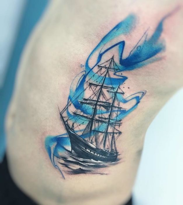 Traditional Ship Tattoo Parryzcom