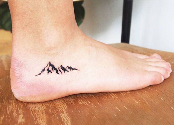 little mountain travel tattoo. Black Bedroom Furniture Sets. Home Design Ideas