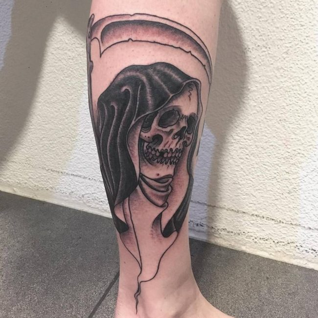 Tattoos House Hd Tattoos Designs Collection For Both Men: 175+ Incredible Grim Reaper Tattoos Ideas For Men