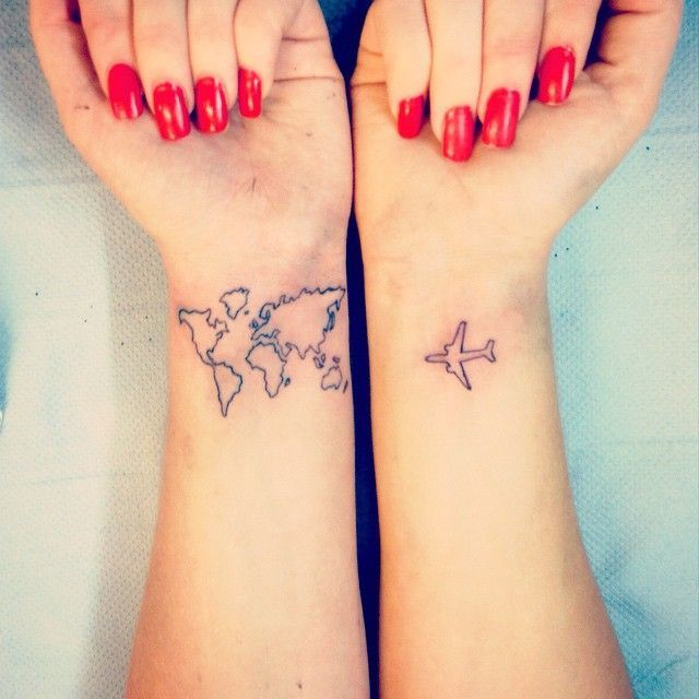 141 nice travel tattoos designs and ideas for everyone parryz gumiabroncs Image collections