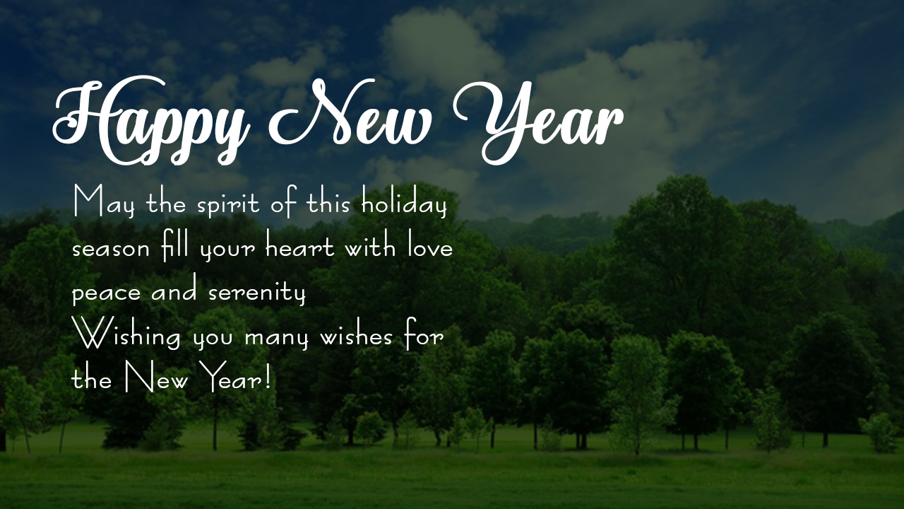New Year Greeting Card Parryz