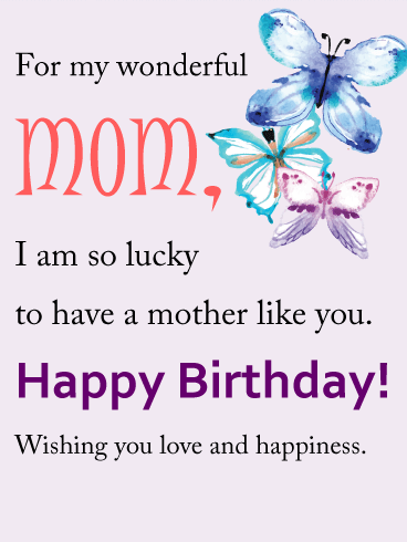 Happy Birthday Quotes For A Mom Unique 35 Inspirational
