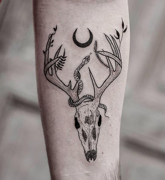 100 Adorable Deer Tattoos Ideas Amp Designs Parryz Com
