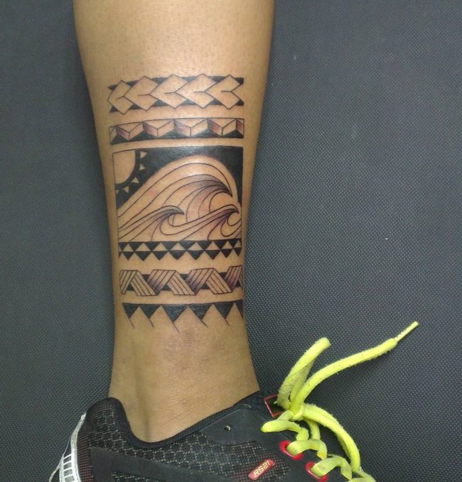 Maori Wave Tattoo: 120+ Truly Fantastic Wave Tattoos For Men And Women