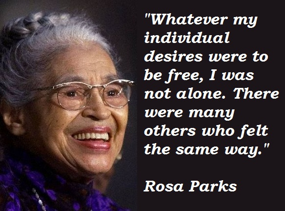 60 Powerful Rosa Parks Quotes Sayings Parryz Delectable Rosa Parks Quotes
