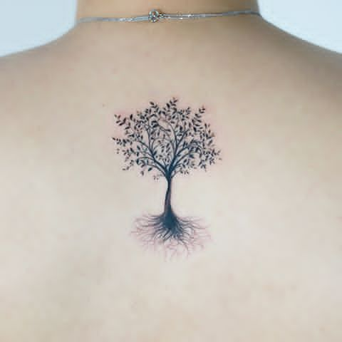 110 Creative Tree Tattoos With Meanings Parryz Com