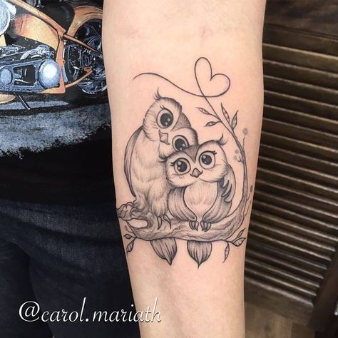 45 lovely small owl tattoos with new designs. Black Bedroom Furniture Sets. Home Design Ideas