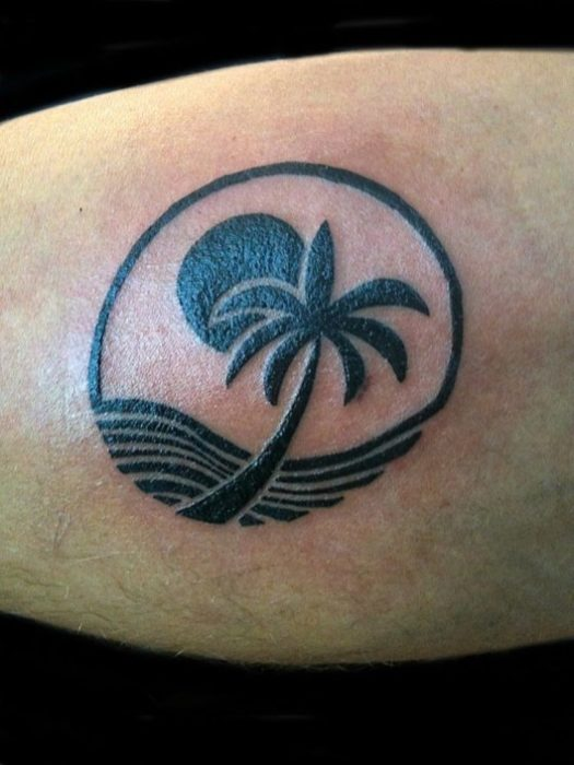 Coconut Tattoo Design Meaning: 54 Remarkable Palm Tree Tattoo Designs With Meanings
