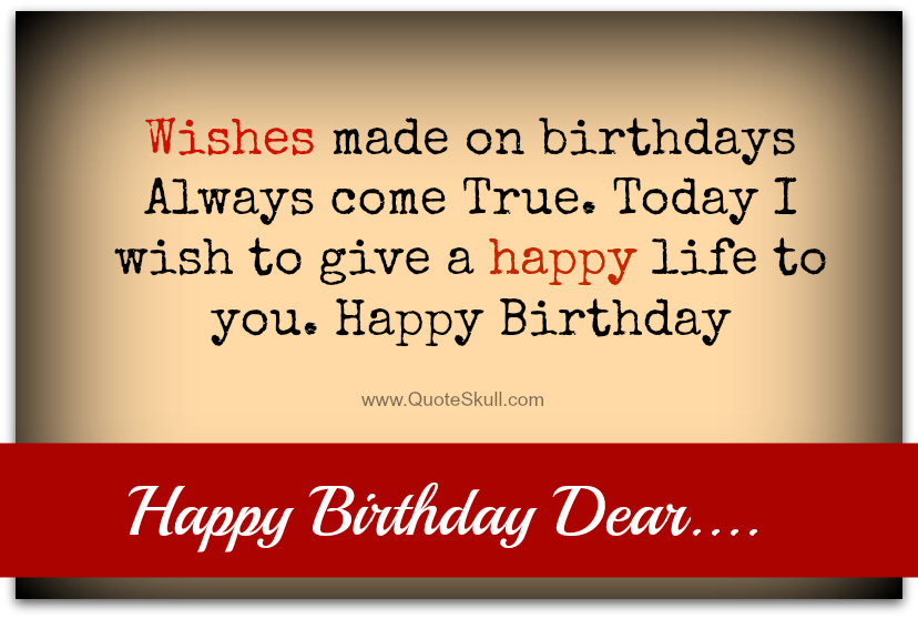 Nice Birthday Sayings To Give A Happy Life Parryz Com