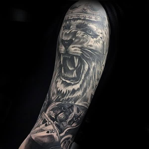 85 The King Lion Tattoos With Meanings Parryz Com
