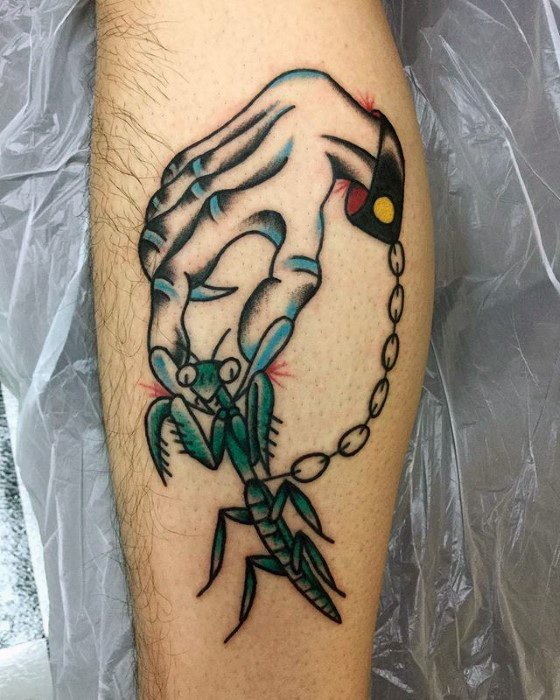 Fantastic Praying Mantis Tattoos Parryz Com