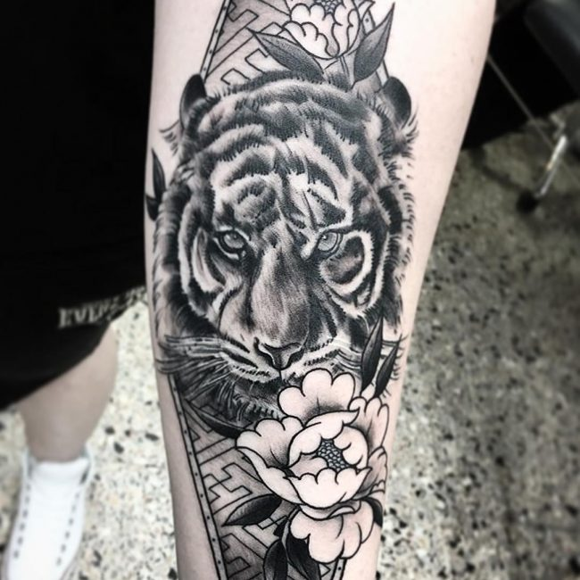 Tiger tattoo 17