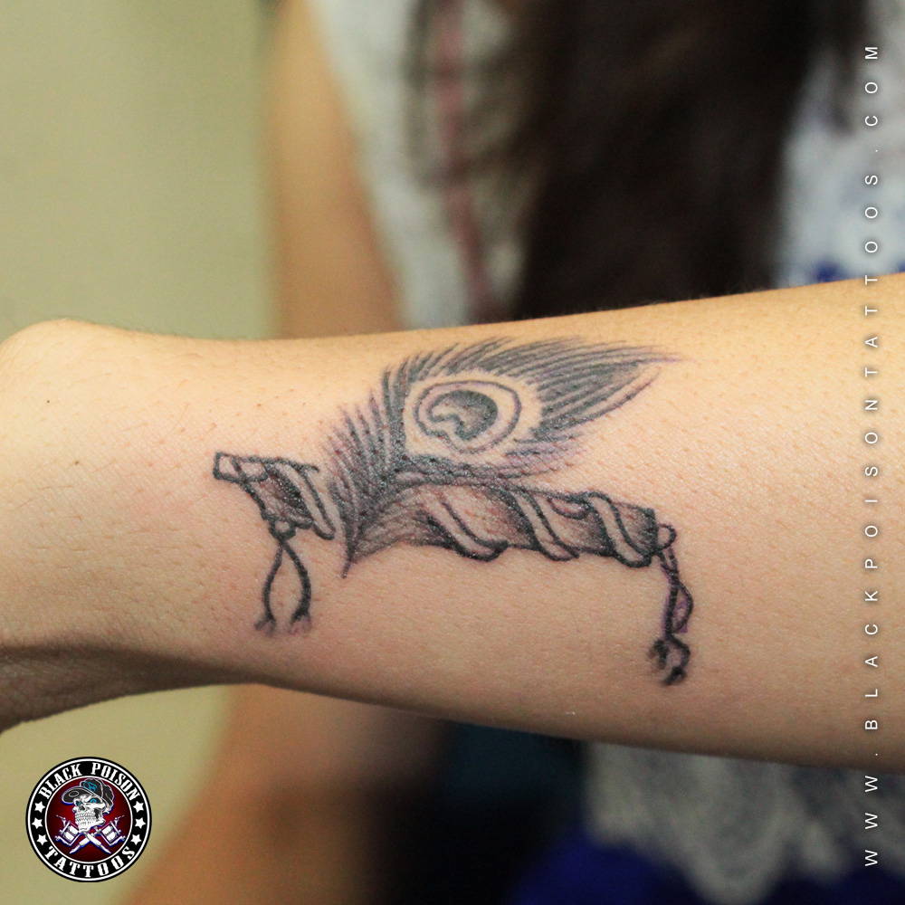 Most Beautiful Peacock Feather Tattoo Parryz Com