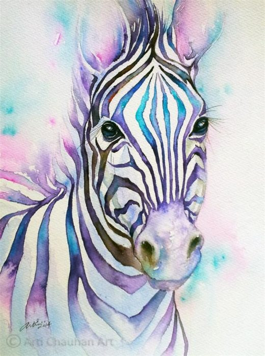 28 Most Beautiful Animals Painting Ideas - Parryz.com
